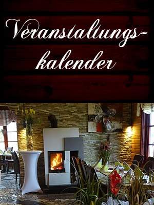Veranstaltungskalender Waldgasthaus Zum Kuckuck Harsum