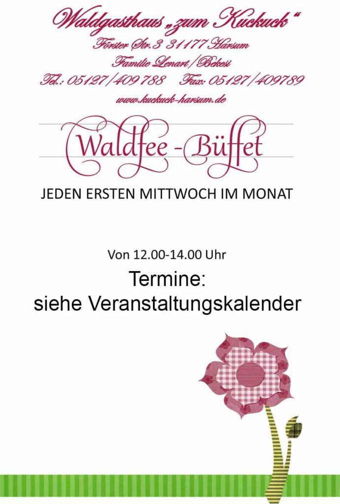Waldfee Büffet 2017 Zum Kuckuck Harsum